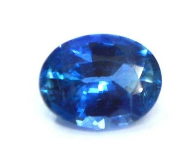 2.05 Ct TOP QUALITY NATURAL BLUE KYANITE 7X9 MM OVAL CUT GEMSTONE FOR JEWELRY