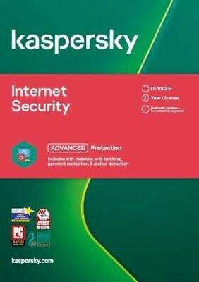 KASPERSKY INTERNET SECURITY 2019 10 PC DEVICE  MULTI DEVICE - Download