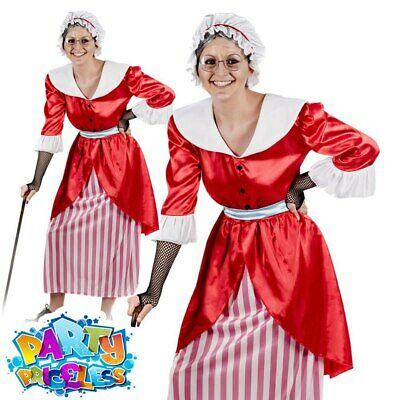 Adult Old Mother Hubbard Fairy Tale Mother Costume Ladies Fancy Dress Book Week