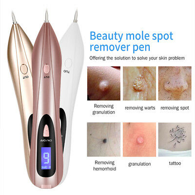 Pro Skin Mole Wart Tag Removal LCD Electric Laser Freckle Removal Pen Machine
