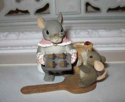 Charming Tails You Bake Me Happy Grandma Cookies Figure Mouse Mice