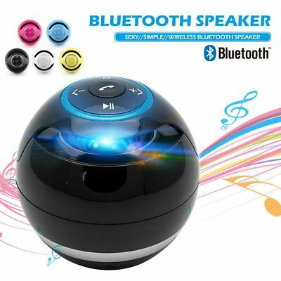 Mini Wireless Bluetooth Super Bass Stereo Speaker Handsfree Mic FM/TF Radio SU