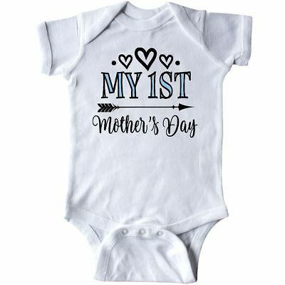 ee789ffd5 Inktastic My 1st Mothers Day Outfit Infant Creeper Babys First Holiday  One-piece