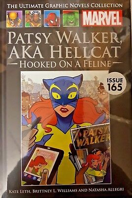 Marvel = Ultimate Graphic Novel Collection = # 165 =Patsy Walker, Aka Hellcat