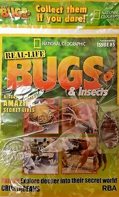 Real -Life Bugs & Insects, = Issue = 85 = Part 27 = + Mag + Bug