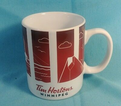 TIM HORTONS Winnipeg Travellers Collection Mug 2016 Du Voyageur pre owned coffee