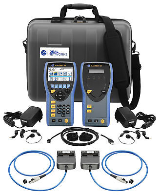 IDEAL Networks R161003 LanTEK III 500MHz Cable Certifier (Including PL Adapters)