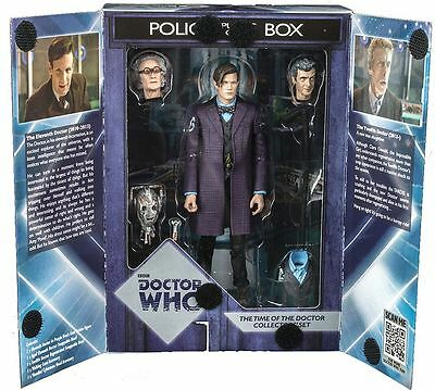 Doctor Dr Who The Time Of The Doctor Collectors Figure Set Brand New Sealed