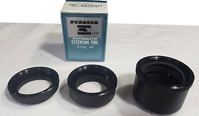 Sunagor Automatic Extension Tube 3 Ring Set BNIB NEW