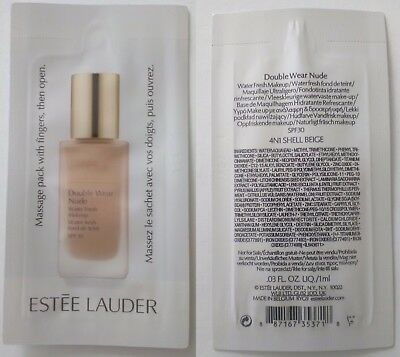 Estee Lauder Double Wear 20 X 1 Ml 4N1 Shell Beige Novita !!