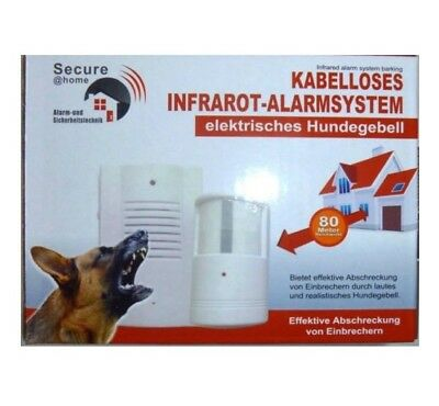 elektronischer wachhund yl 391 infrarot alarmsystem 90db alarmanlage hunde alarm eur 18 88. Black Bedroom Furniture Sets. Home Design Ideas