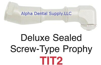 Johnson-Promident Dental Deluxe Star Titan Screw-On Sealed Prophy Angle
