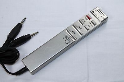 Sony RM-33 Wired Remote/Microphone 4 BM-600 Micro Portable Dictator Transcriber
