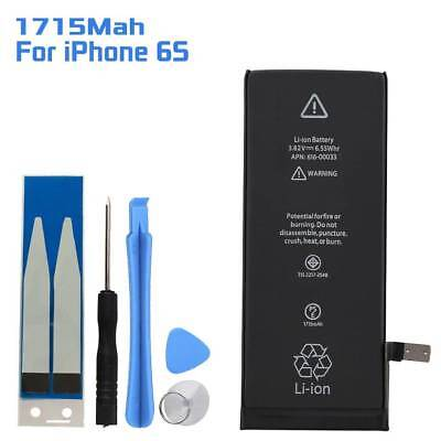 Replacement 1715mAh Li-ion Battery with Free Tools Kit + Adhesive For iPhone 6S