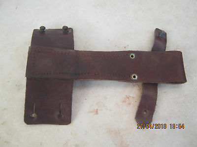 Originals leather Bayonet-FROG-,HOLDER-Romanian AK AKM 47