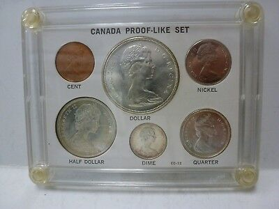 Canada 1967 Royal Canadian Mint Proof-Like Uncirculated Coin Set