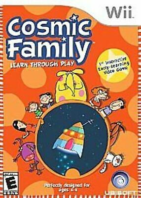 Cosmic Family GAME (Nintendo Wii, 2007)