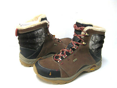 9fd43a25c3b AHNU MONTARA LUXE WP Corduroy Leather Trail Hiking Boot Shoes Size ...
