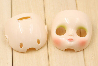 "Takara 8/"" Middie Blythe White Skin faceplate /&Backplate for Custom doll"