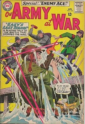 Our Army at War #153 (DC; April 1965) FN-