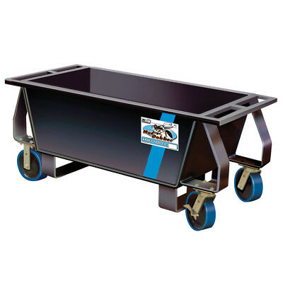 KRAFT BC211 10 CU. FT. MUD DOBBER MORTAR BOX w/ CASTERS