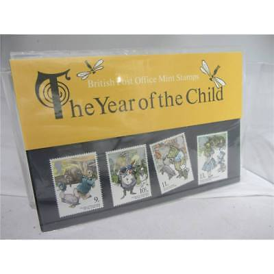 UK mint stamps - Set of the year of the child