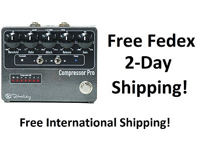 New Keeley Compressor Pro Guitar Effects Pedal
