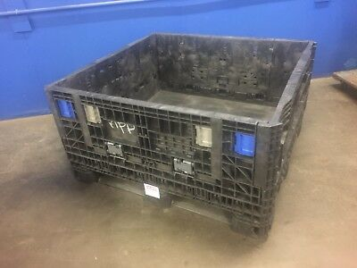 Uline H-1270 Collapsible Bulk Containers W Lids~3 Available~Ontario, Calif.