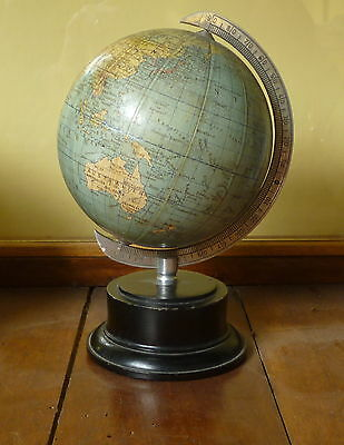 Mappamondo  Antico Vintage Germania c1950 Columbusverlag  German Globe  c1950