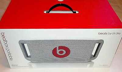 BEATS BY DR. DRE BEATBOX PORTABLE BLUETOOTH SPEAKER with NEW PLUG IN CORD
