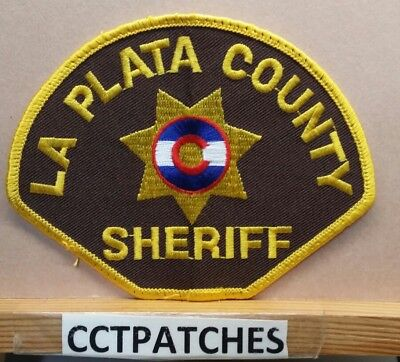 La Plata County, Colorado Sheriff (Police) Shoulder Patch Co
