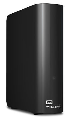 Western Digital Elements Desktop 2TB externe Festplatte 3,5'' USB 3.0 Schwarz
