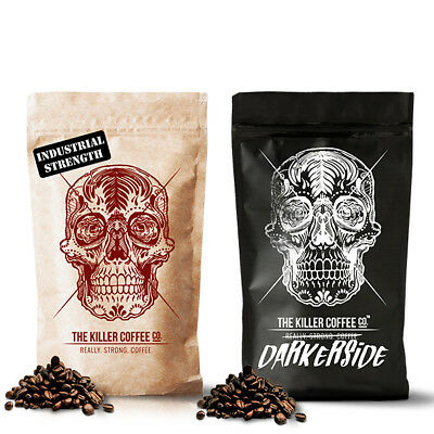 Killer Challenge Pack - Strong, Smooth, High Caffeine Coffee