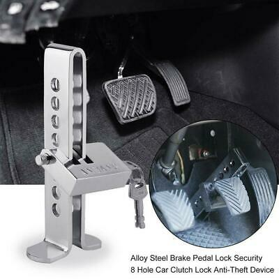 Brake Pedal Lock Security Car Auto High Stength Ss Clutch Anti Theft
