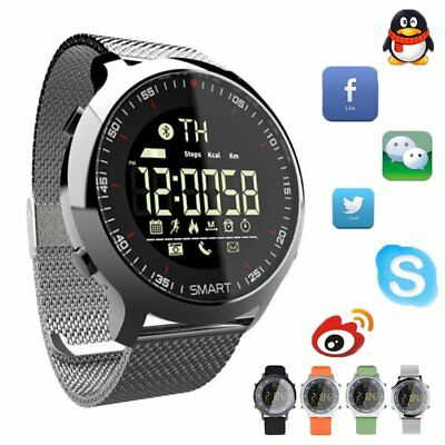 Smartwatch Bluetooth Armband Uhr HandyWatch Sport Activities Tracker Wasserdicht