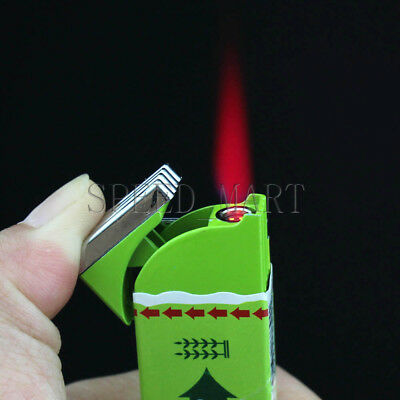 Cute Funny Chewing Gum Shaped Lighter Refillable Butane Gas Cigarette Smoke Gift