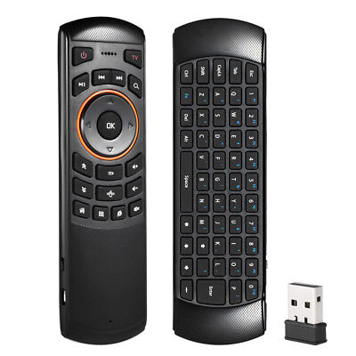 AU X6 Wireless Remote Keyboard Mouse for Samsung LG Smart TV Android Kodi TV Box