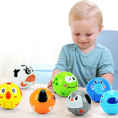 Baby-Cute-Animal-Roly-Poly-Tumbler-Toy-Climbing-Ring-Bell-Crawling-Educational