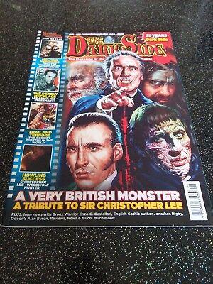 The Dark Side #168 (2016, UK 68 pages, full colour) good as new
