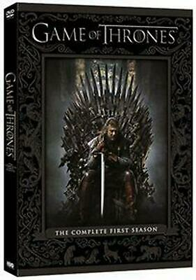 Game of Thrones: The Complete First Season - DVD Region 2 Free Shipping!