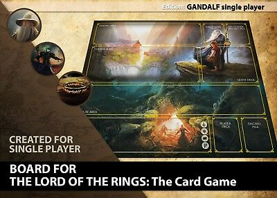The Lord Of The Rings Lcg Card Game Board Gameboard Cloth Playing Surface Mat