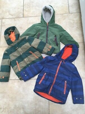3x Mini Boden boys jackets (Age 2-3 And 3-4)