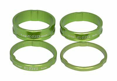 A2Z anodizzato Headset Stack Spacer, unisex, Anodized Headset, Green, (z0l)