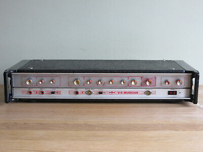 Vintage 1978 HH Electronic V-S Musician Head Amplifier 100w serviced & tested