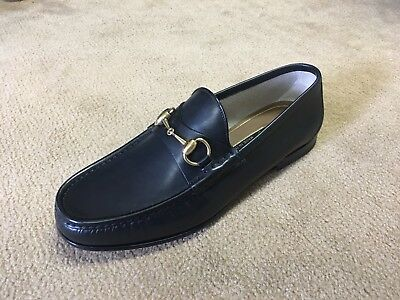 b9dc4b1229cad GUCCI 1953 HORSEBIT Leather Loafer - Black - Mens 7 US - New w  Box ...