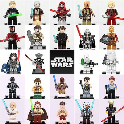 2018  24ps Set Star Wars Rouge One Darth Maul Skywalker Mini figures fit Lego