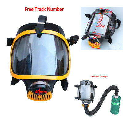 Safety Paint Spray Military Soviet Full Face Gas Mask Facepiece Respirator 40mm