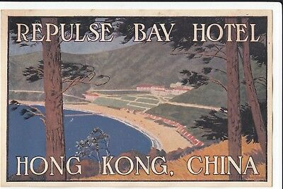Repulse Bay Hotel, Hong Kong, Hong Kong China (by artist Dan Sweeney)