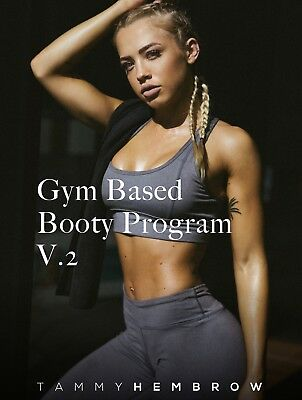 Tammy Hembrow Gym Based Booty Program v2 PDF NEW