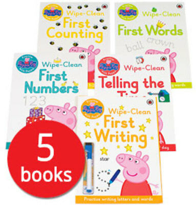 Peppa Pig: Wipe-Clean Collection - 5 Books